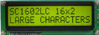 Large Characters LCD